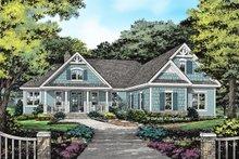 House Plan Design - Craftsman Exterior - Front Elevation Plan #929-1058