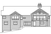 Craftsman Style House Plan - 3 Beds 3.5 Baths 4090 Sq/Ft Plan #124-753 Exterior - Rear Elevation
