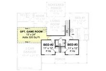 Country Floor Plan - Upper Floor Plan Plan #513-2051