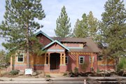 Craftsman Style House Plan - 3 Beds 2 Baths 1534 Sq/Ft Plan #434-14 Exterior - Front Elevation