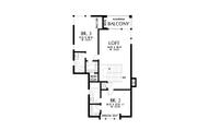 Contemporary Style House Plan - 4 Beds 4 Baths 3882 Sq/Ft Plan #48-1004 Floor Plan - Upper Floor Plan