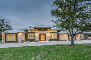 Home Plan - Prairie Exterior - Front Elevation Plan #935-13