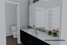 House Plan Design - Future Finished Basement Bath
