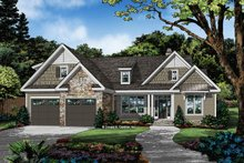 Architectural House Design - Country Exterior - Front Elevation Plan #929-1068