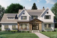 Home Plan - Farmhouse Exterior - Front Elevation Plan #51-1162