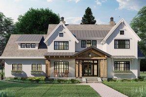 House Design - Farmhouse Exterior - Front Elevation Plan #51-1162
