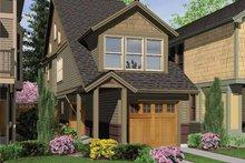 Craftsman Exterior - Front Elevation Plan #48-814