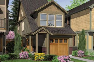 House Plan Design - Craftsman Exterior - Front Elevation Plan #48-814