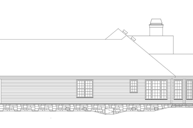 Country Exterior - Other Elevation Plan #929-700 - Houseplans.com