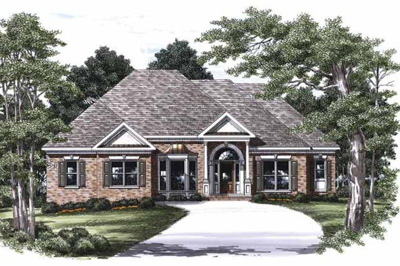 Classical Exterior - Front Elevation Plan #927-454 - Houseplans.com