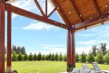 Dream House Plan - Farmhouse Exterior - Outdoor Living Plan #1070-10
