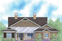 Country Exterior - Front Elevation Plan #938-55