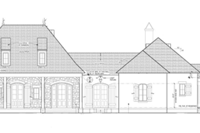 European Exterior - Front Elevation Plan #1058-24 - Houseplans.com