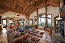 House Plan Design - Craftsman Interior - Family Room Plan #942-30