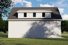 Architectural House Design - Country Exterior - Rear Elevation Plan #1064-75