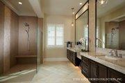 Mediterranean Style House Plan - 3 Beds 4.5 Baths 3394 Sq/Ft Plan #930-457 Interior - Master Bathroom