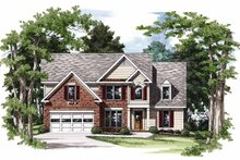 House Plan Design - Colonial Exterior - Front Elevation Plan #927-751