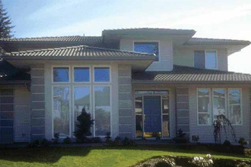 Prairie Exterior - Front Elevation Plan #509-78 - Houseplans.com