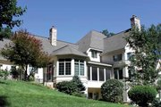 European Style House Plan - 4 Beds 5.5 Baths 5157 Sq/Ft Plan #928-65 Exterior - Rear Elevation