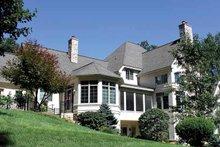 Architectural House Design - European Exterior - Rear Elevation Plan #928-65