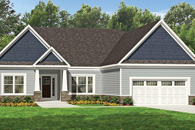 House Plan Design - Ranch Exterior - Front Elevation Plan #1010-107