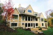 European Style House Plan - 4 Beds 3.5 Baths 4347 Sq/Ft Plan #928-178 Exterior - Rear Elevation