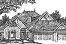 House Plan Design - Country Exterior - Front Elevation Plan #310-1273