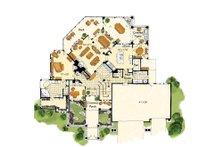 Craftsman Floor Plan - Main Floor Plan Plan #942-16
