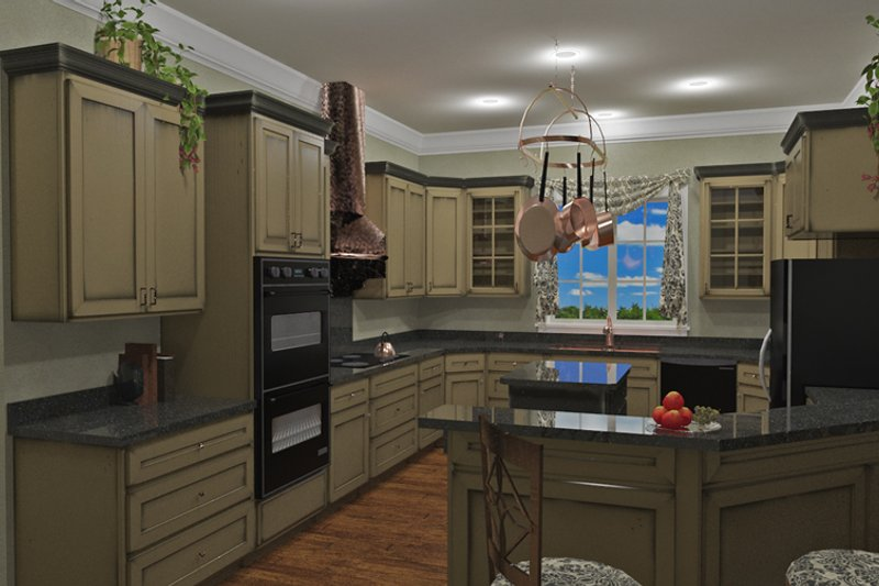 Traditional Interior - Other Plan #44-193 - Houseplans.com