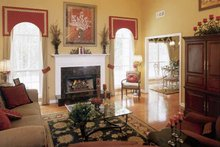 Country Interior - Family Room Plan #927-120