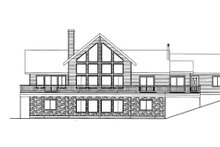 Craftsman Exterior - Rear Elevation Plan #117-843