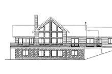 House Plan Design - Craftsman Exterior - Rear Elevation Plan #117-843