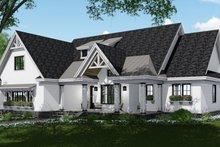 Farmhouse Exterior - Front Elevation Plan #51-1140