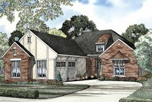 House Plan Design - Traditional Exterior - Front Elevation Plan #17-3146