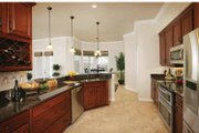 Country Style House Plan - 3 Beds 2.5 Baths 2287 Sq/Ft Plan #938-11 Interior - Kitchen