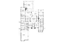 Mediterranean Floor Plan - Main Floor Plan Plan #930-447