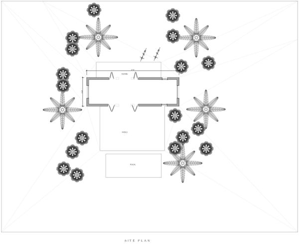 Modern Floor Plan - Other Floor Plan #535-7