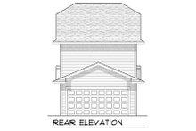 Home Plan - Craftsman Exterior - Rear Elevation Plan #70-964