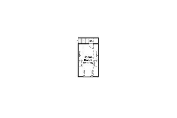 Home Plan - Country Floor Plan - Upper Floor Plan #124-1034