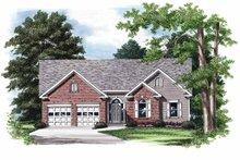 House Plan Design - Ranch Exterior - Front Elevation Plan #927-710