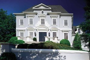 Classical Exterior - Front Elevation Plan #429-141