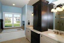 Architectural House Design - Craftsman Interior - Master Bathroom Plan #928-91