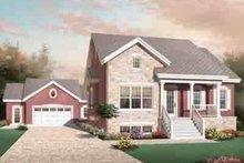 Dream House Plan - European Exterior - Front Elevation Plan #23-637
