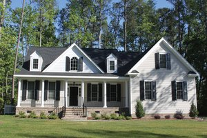 Home Plan - Country Exterior - Front Elevation Plan #927-934