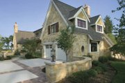 Country Style House Plan - 3 Beds 3 Baths 4703 Sq/Ft Plan #928-183 Exterior - Rear Elevation