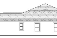 House Plan Design - Mediterranean Exterior - Other Elevation Plan #1058-128