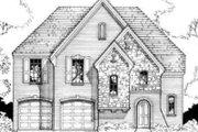 European Style House Plan - 3 Beds 2.5 Baths 2131 Sq/Ft Plan #141-105