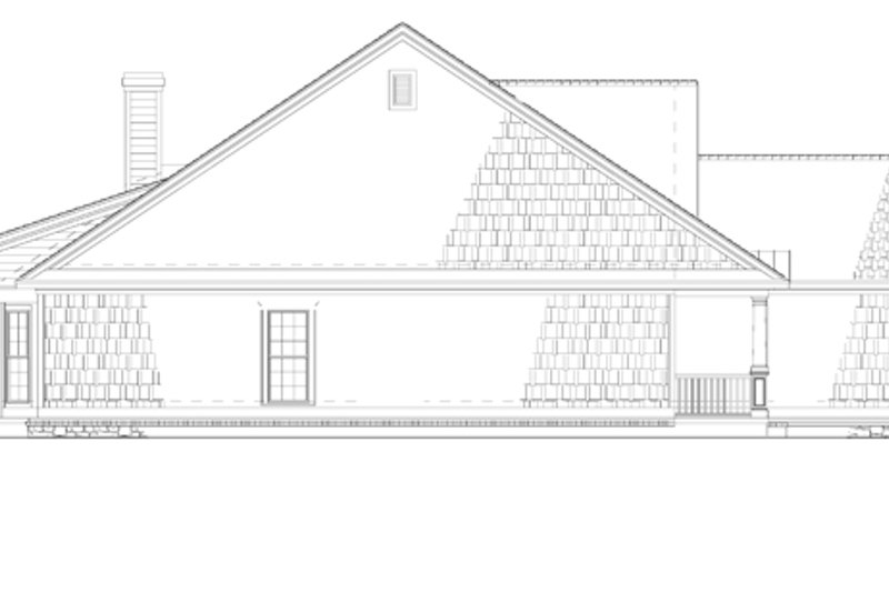 Country Exterior - Other Elevation Plan #17-2795 - Houseplans.com