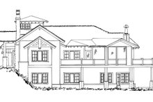 Architectural House Design - Ranch Exterior - Other Elevation Plan #942-31