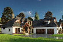 Dream House Plan - Craftsman Exterior - Other Elevation Plan #923-171